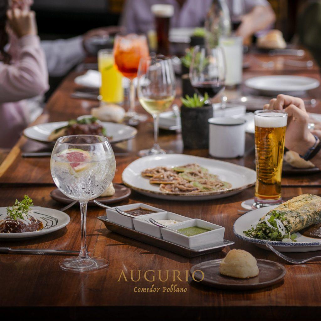 Los restaurantes más románticos de Puebla Augurio